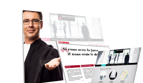 1 solution de creation de site web dediee aux avocats
