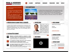 Exemple site internet avocat design no 2
