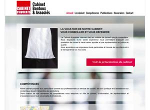 Exemple site internet avocat design no 3