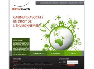 Exemple site internet avocat design no 5