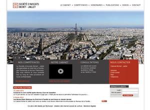 Exemple site internet avocat design no 6