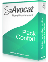 Pack Confort site web avocat