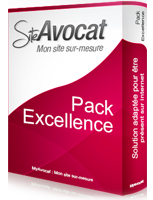 Pack Excellence site web avocat