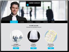 Modlèle site internet avocat dynamique, informatif